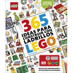 365 IDEAS PARA CONSTRUIR CON LADRILLOS LEGO®. DIVERSION LEGO CADA DIA DEL AÑO